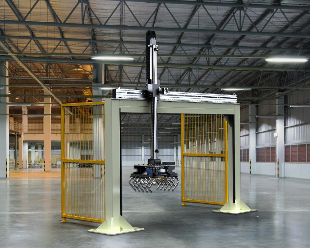Robot cartesiani e robot pallettizzatori, quali sono le applicazioni