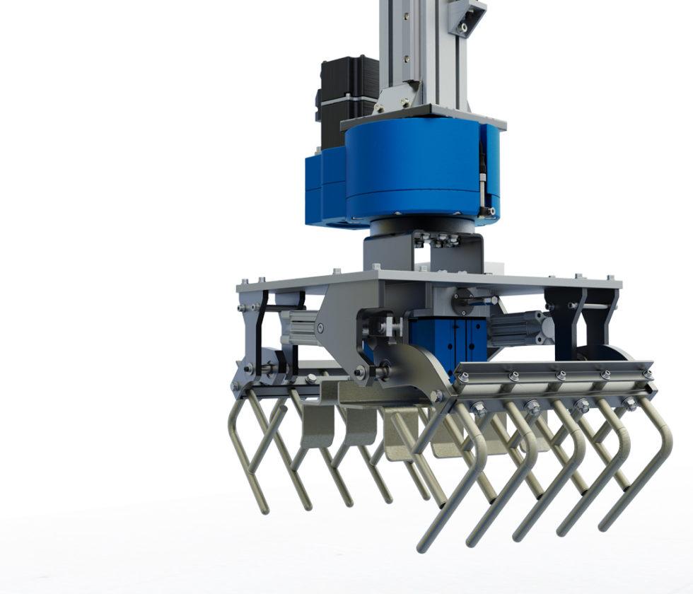 LinearLEAD - pallettizzazione robotizzata - Pinze di presa per sacchi interfaccia per robot pallettizzatori cartesiani di packaging