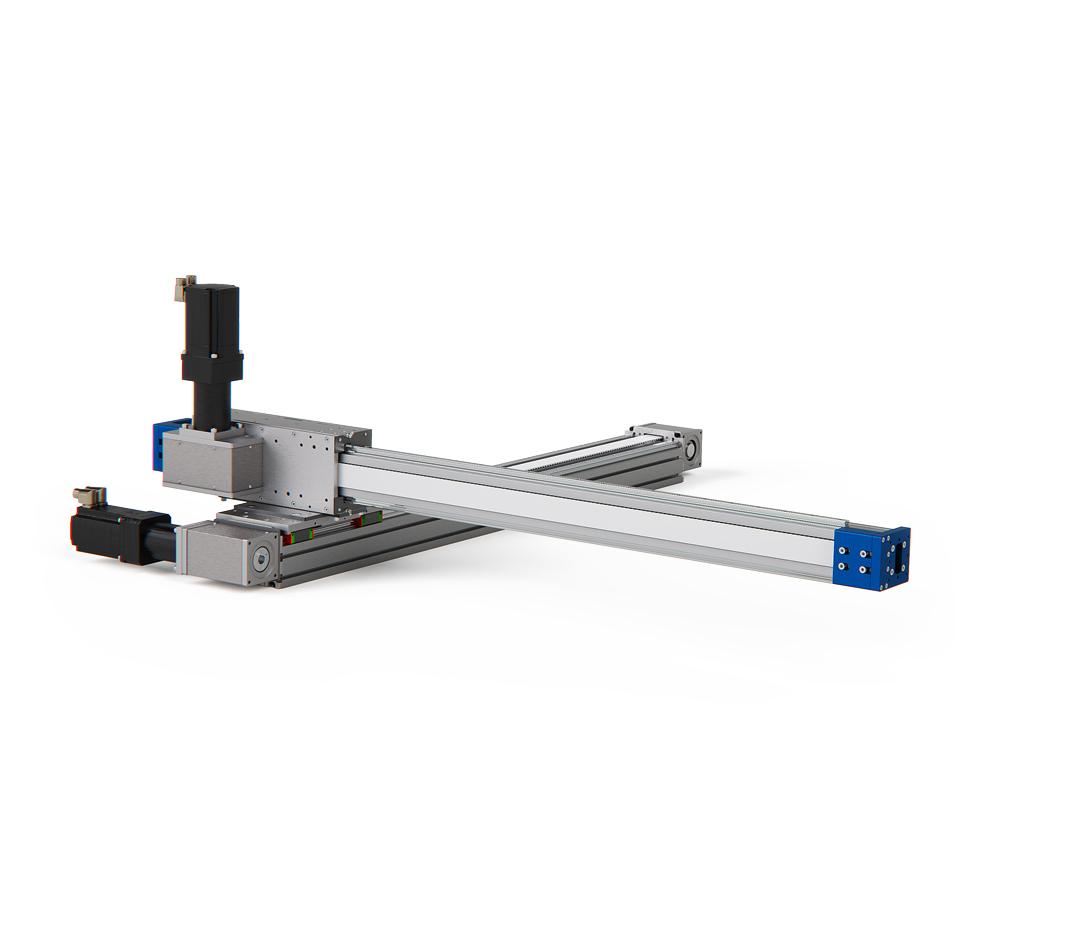 robot cartesiani XY con asse a sbalzo per avvitatura handling