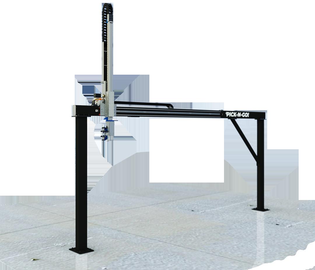 Robot cartesiani carico-scarico CNC alta portata