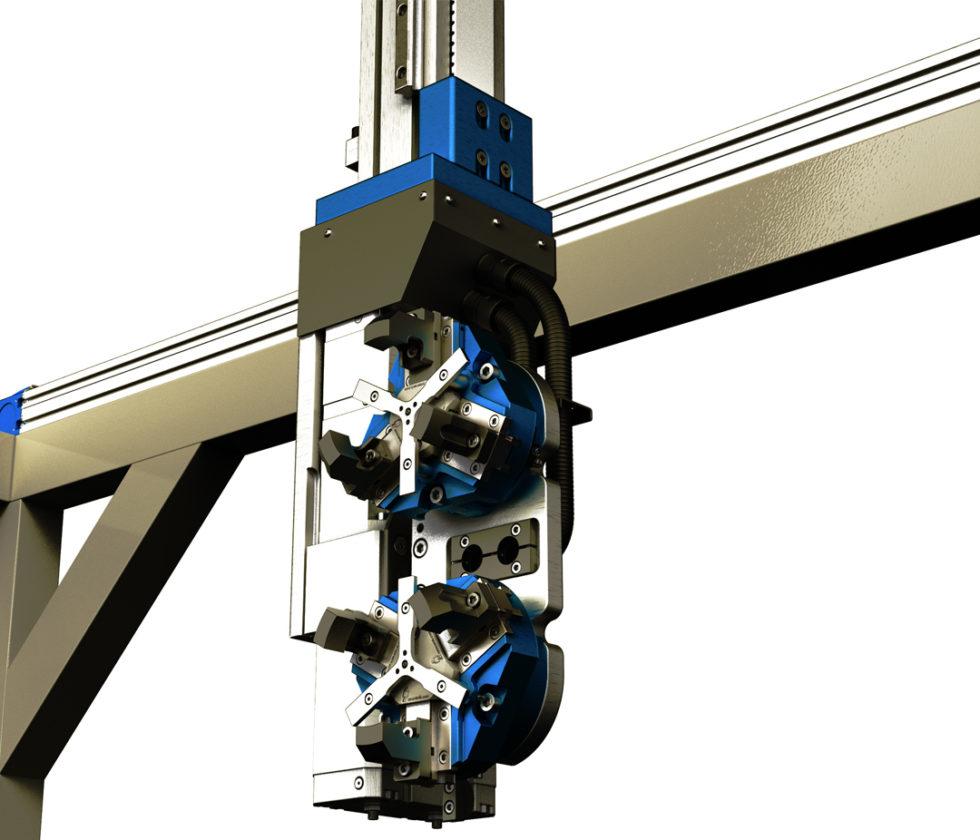 LinearLEAD | Robot di asservimento macchine utensili - Robot cartesiani di pallettizzazione