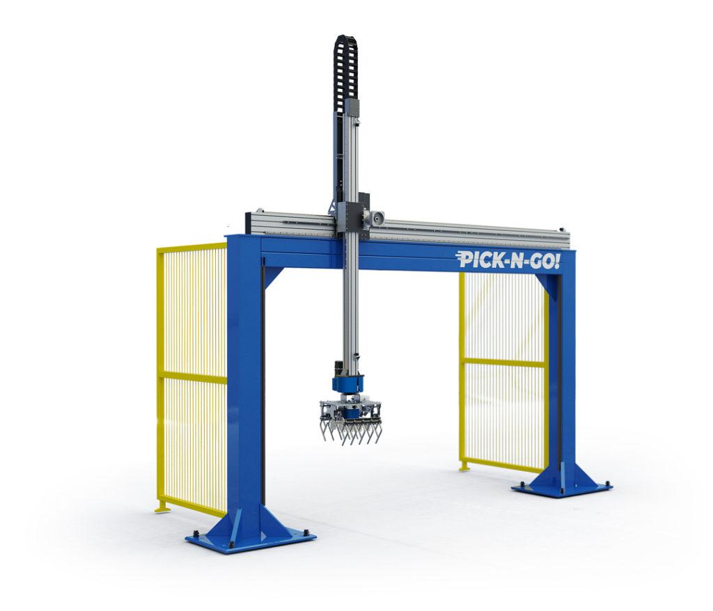 LinearLEAD | robot cartesiani pallettizzazione - robot pallettizzatore a 2 assi