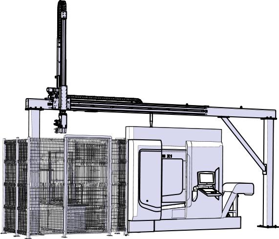 Asservimento macchine utensili con quale robot - LinearLEAD