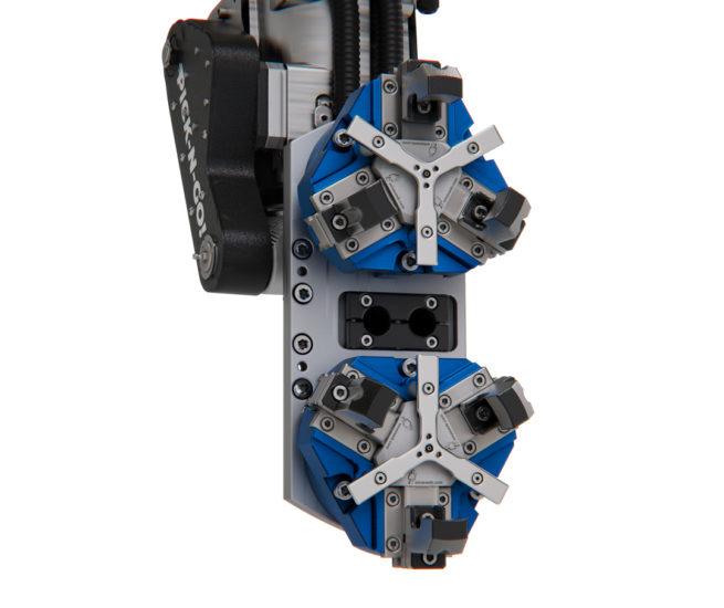 LinearLEAD   soluzioni per sservimento macchine utensili - con robot