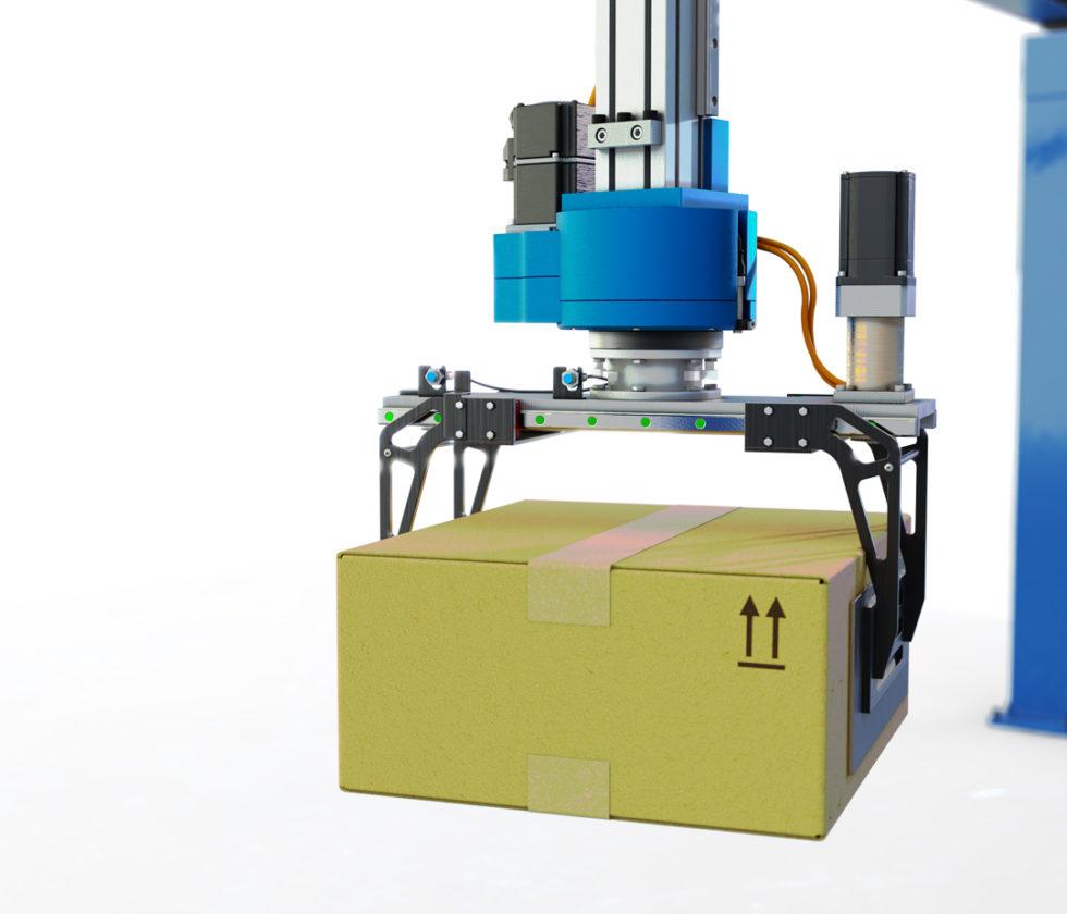 LinearLEAD | Soluzioni per la pallettizzazione - pinza per robot pallettizzatore