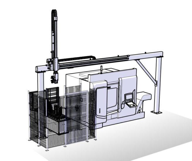 LinearLEAD: l'ingenierizzazione dell'asservimento CNC con robot