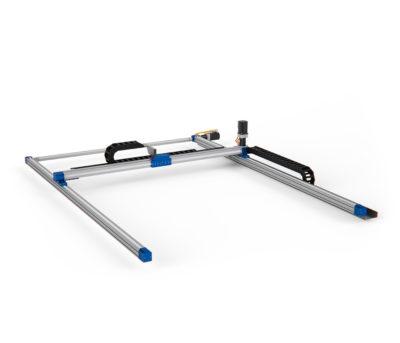 robot lineare a 2 assi gantry con doppio asse parallelo