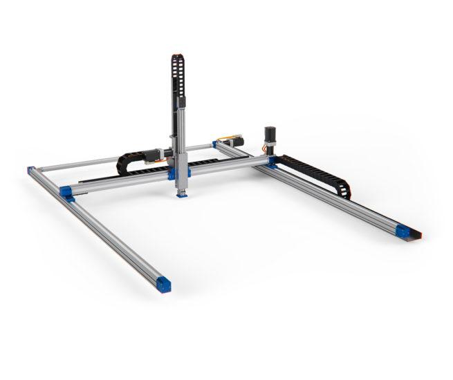 LinearLEAD | composizione con robot cartesiano