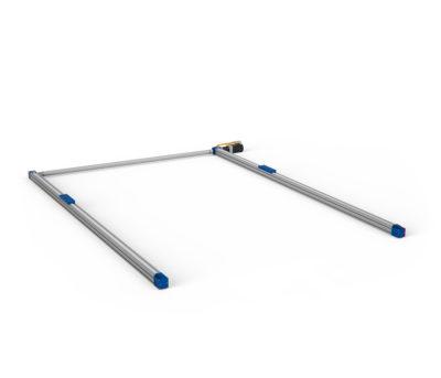 robot lineari a doppio asse parallelo sincronizzato di pallettizzazione