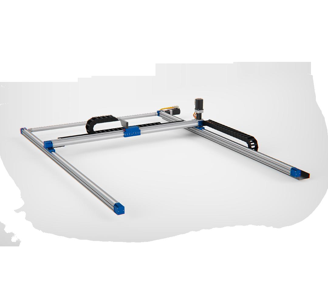 robot lineari a 2 assi gantry