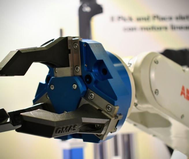 Omas | Soluzione di precisione per la presa per robot