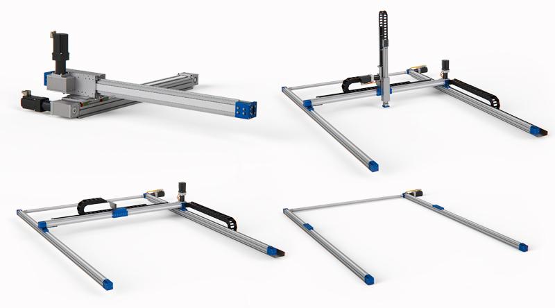 LinearLEAD | soluzioni con robot cartesiano